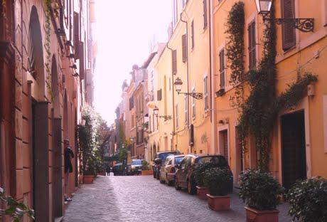 Foto via del Babuino e via Margutta