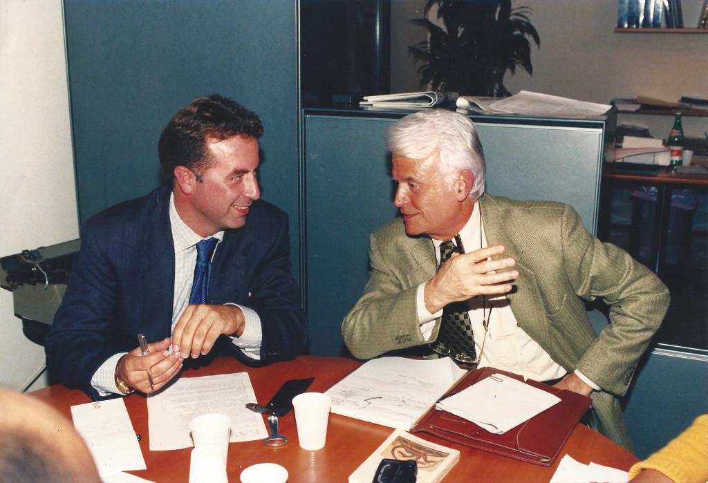 Foto Luigi Carletti e Gian Carlo Caselli
