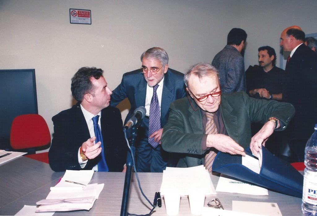 Foto Luigi Carletti e Pier Luigi Vigna